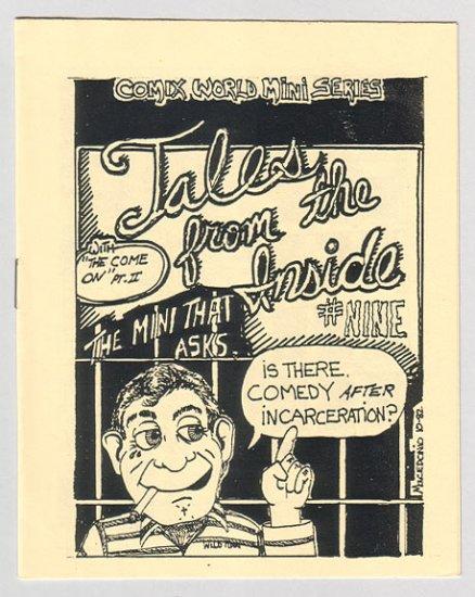 TALES FROM THE INSIDE #9 mini-comic MACEDONIO James Waltman 1982