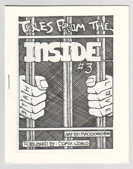 TALES FROM THE INSIDE #3 mini-comic MACEDONIO 1982