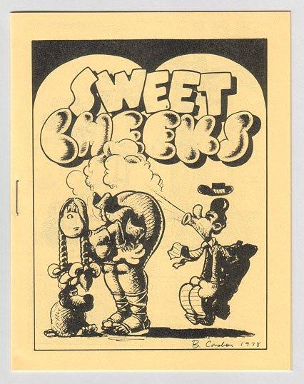 SWEET CHEEKS #1 mini-comix TOM BRINKMANN Brad Foster LARRY TODD 1980