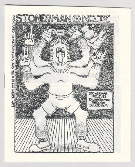 STONER MAN COMIX #4 mini-comic PARSONAVICH 1982