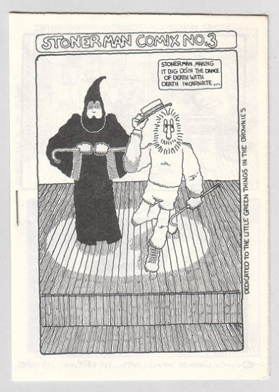 STONER MAN COMIX #3 mini-comic PARSONAVICH 1982