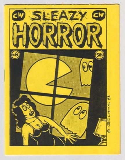 SLEAZY HORROR #8 mini-comix J.R. WILLIAMS George Kochell GARRY HARDMAN 1983