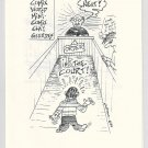 ORDER IN THE COURT mini-comic JAMES WALTMAN underground comix minicomix 1984