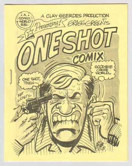 ONE SHOT COMIX mini-comic GRASS GREEN 1980 Comix World