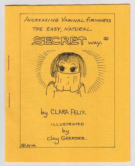 INCREASING VAGINAL FIRMNESS mini-comic CLAY GEERDES 1979