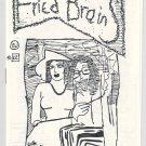 FRIED BRAINS #22 mini-comic WILLIAM DOCKERY underground comix minicomic 1986