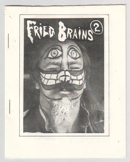 FRIED BRAINS #2 mini-comic DOUGLAS BRYSON Bob Vojtko BILL SHUT 1979