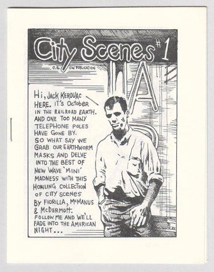 CITY SCENES #1 mini-comic STEVE FIORILLA Shawn McManus 1982