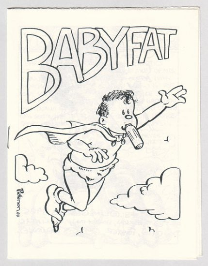 BABYFAT #48 mini-comic J.R. WILLIAMS Brad W. Foster GARRY HARDMAN underground comix 1985