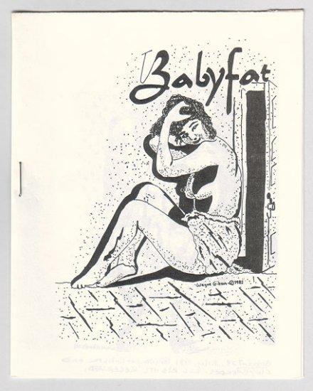 BABYFAT #23 mini-comic WAYNE GIBSON underground Comix World 1981