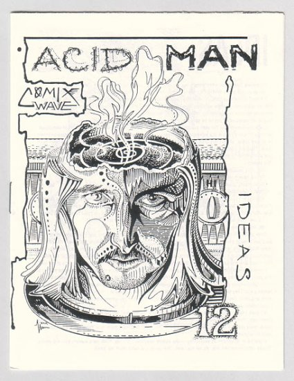 ACID MAN #12 mini-comic ROBERT PASTERNAK Canadian underground comix 1990