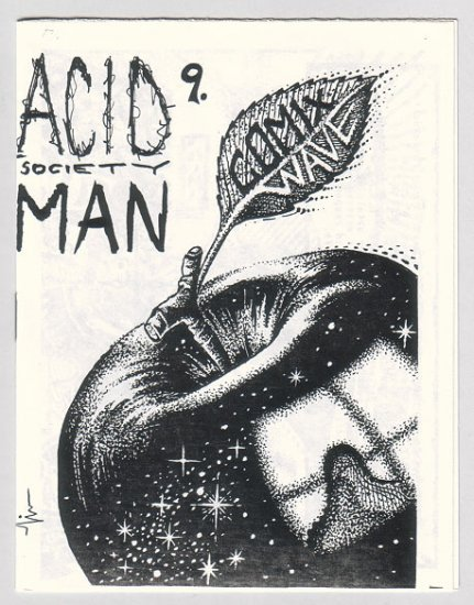 ACID MAN SOCIETY #9 psychedelic mini-comix ROBERT PASTERNAK 1989