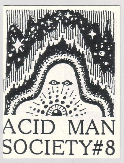 ACID MAN SOCIETY #8 mini-comic ROBERT PASTERNAK Canadian underground comix 1989