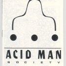 ACID MAN SOCIETY #nn mini-comic ROBERT PASTERNAK Canadian underground comix