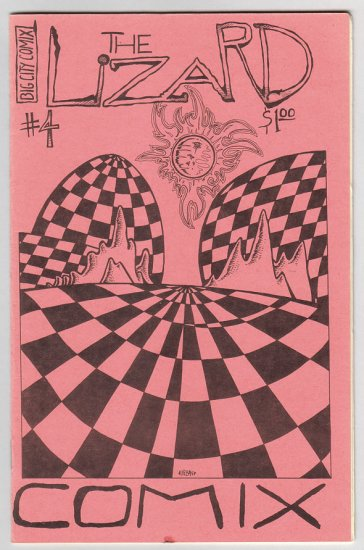 THE LIZARD #4 minicomix MIKE URBAN 1985
