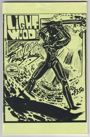 LIGHTWOOD #1 mini-comix JERRY COLLINS 1984