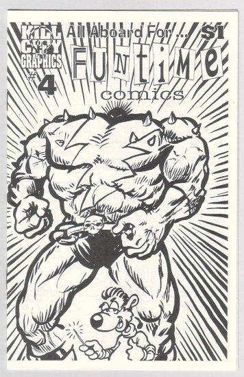 FUNTIME COMICS #4 mini-comic DAVE MITCHELL 1997