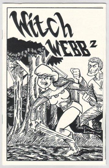 WITCH WEBB #1 & 2 mini-comics BILL MALLORY lot of 2 1993