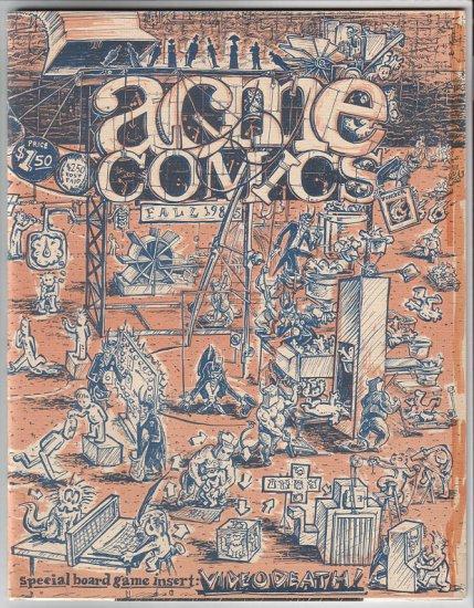 ACME COMICS #6 comics anthology T. MOTLEY 1985