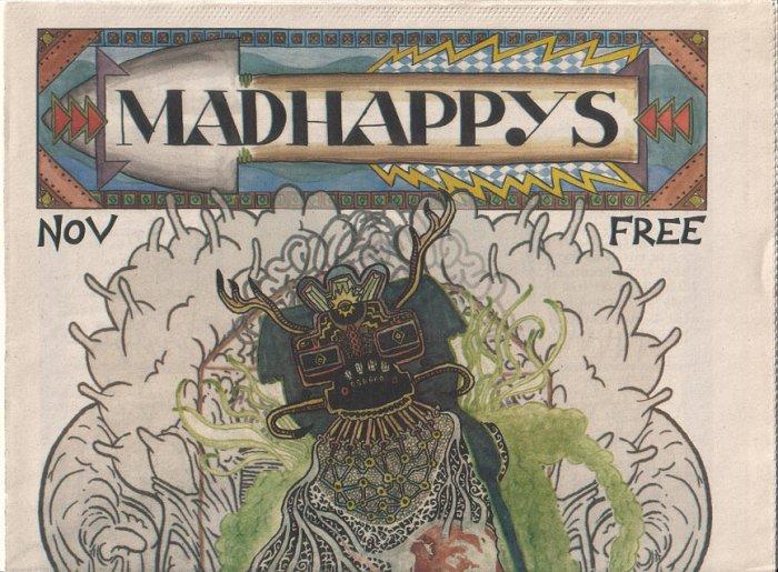 MADHAPPYS #2 comix ANDREW GOLDFARB Kevin Brady 2005