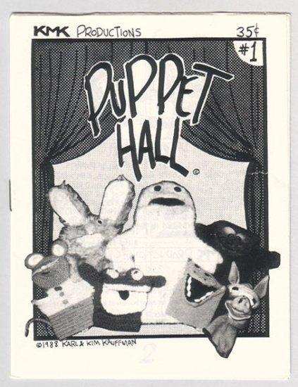 KMK mini-comics LOT of 5 Kauffman puppets 1988