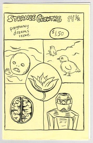 STRANGE GROWTHS #14 1/2 mini-comic JENNY ZERVAKIS
