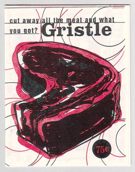GRISTLE mini-comic VINCENT STALL King Mini 1998