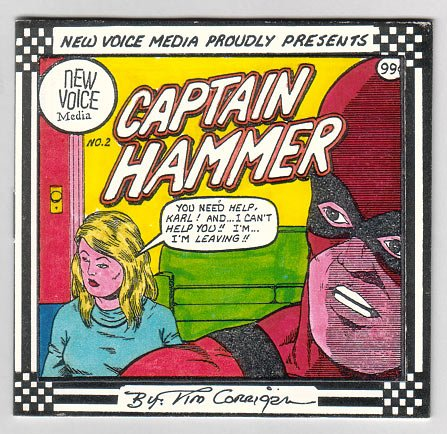 CAPTAIN HAMMER #2 mini-comic TIM CORRIGAN 1997