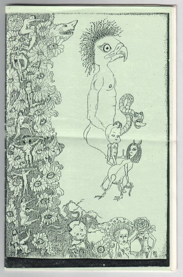 SPLATTER #2 mini-comic MARCEL DEJURE Eric Brummer LOUIS METZ 1988
