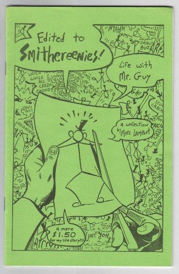 EDITED TO SMITHEREENIES mini-comic MARC LAMPORT 1988