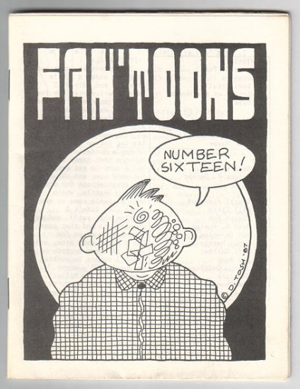 FAN'TOONS #16 mini-comix JEFF GAITHER D. Tosh BILL FITTS Eric Mayer 1986