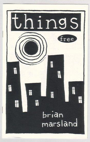 THINGS mini-comic BRIAN MARSLAND comix 1994