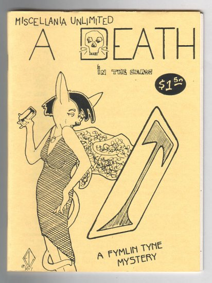 A DEATH IN THE CARDS mini-comic EDD VICK Guy Brownlee 1987