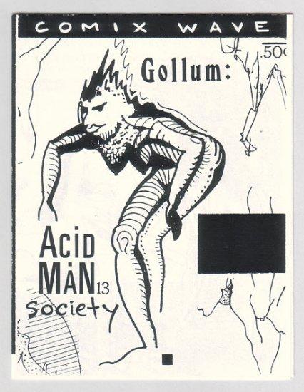 ACID MAN SOCIETY #13 Canadian mini-comix ROBERT PASTERNAK 1990