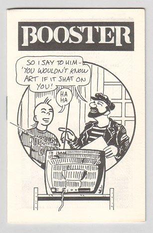 BOOSTER mini-comix MATT HOWARTH P.G. Roth 1984