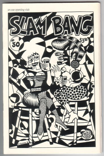 SLAM BANG #30 mini-comix MARY FLEENER Mark Martin CLAY GEERDES interview 1989