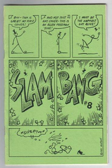 SLAM BANG #8 mini-comix MATT FEAZELL David Miller EDWARD BOLMAN