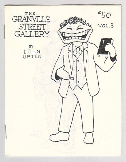 GRANVILLE STREET GALLERY #3 Canadian mini-comix COLIN UPTON 1980s