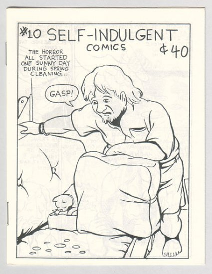 SELF-INDULGENT COMICS #10 Canadian mini-comix COLIN UPTON 1980s