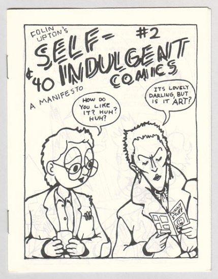 SELF-INDULGENT COMICS #2 Canadian mini-comix COLIN UPTON 1980s