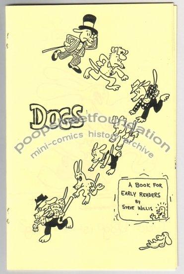 DOGS rare early STEVE WILLIS mini-comix comic 1980