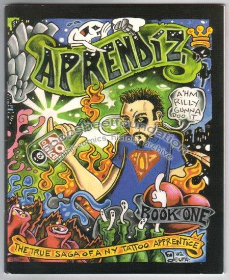 APRENDIZ #1 mini comix ADAM SUERTE tattoo artist 2002