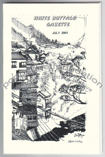 WHITE BUFFALO GAZETTE July 2001 mini comix STEVE WILLIS John Miller T. MOTLEY Steve Skeates
