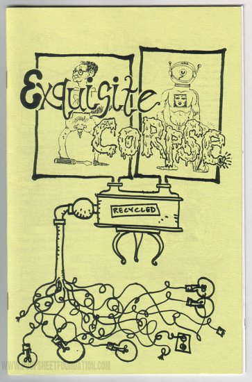 EXQUISITE CORPSE RECYCLED comix JIM WOODRING Bill Griffith CHUCK SPERRY Paul Mavrides 1994