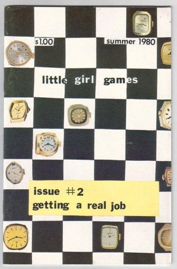 LITTLE GIRL GAMES #2 punk zine for girls 1980 fanzine