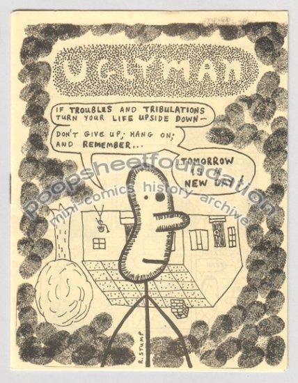 UGLYMAN #2 mini newave comix ROBERT STUMP 1983