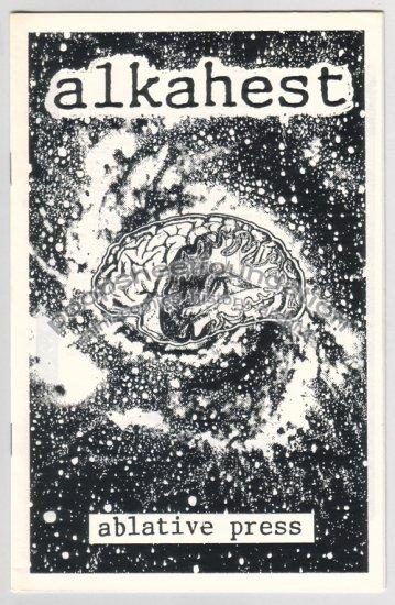 ALKAHEST art brut mini comic JOHN MARSHALL 1988
