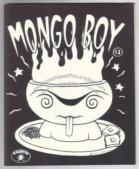 MONGO BOY #1 mini-comic silkscreened cover MARK BROOKS 1990