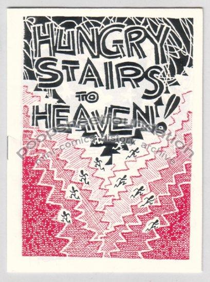 HUNGRY STAIRS TO HEAVEN mini comix comic STEVE WILLIS dada 1992