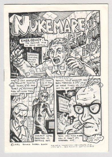 NUKEMARE mini comix RONALD RUSSELL ROACH 1983